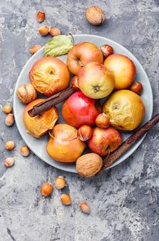 Kerstgebakken appels
