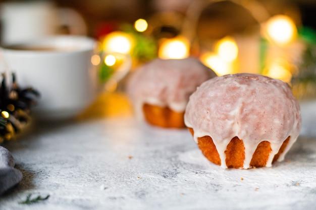 Kerstkoekje zoet gebak koekje gebak zelfgebakken cake zoet dessert