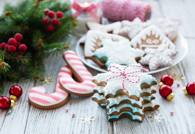 Kerstkoekjes en kerstboom
