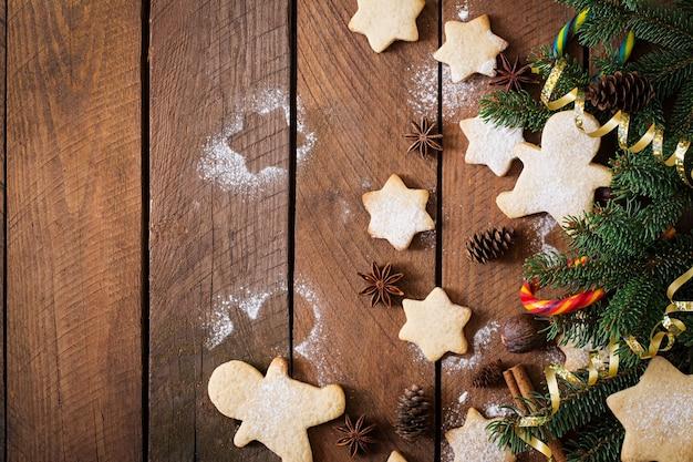 Kerstkoekjes en klatergoud