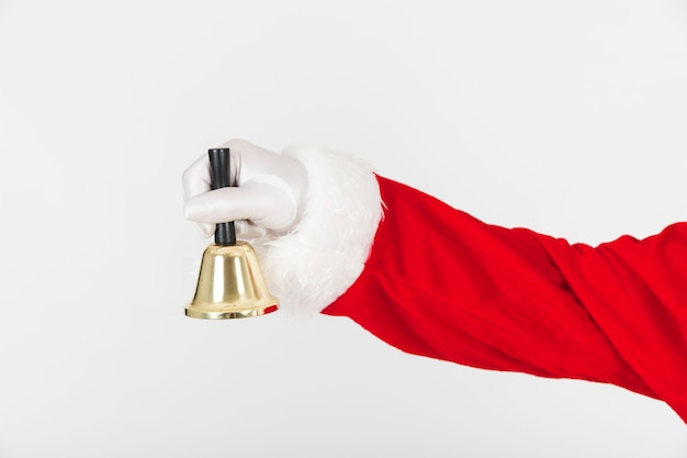 Kerstman bedrijf bel