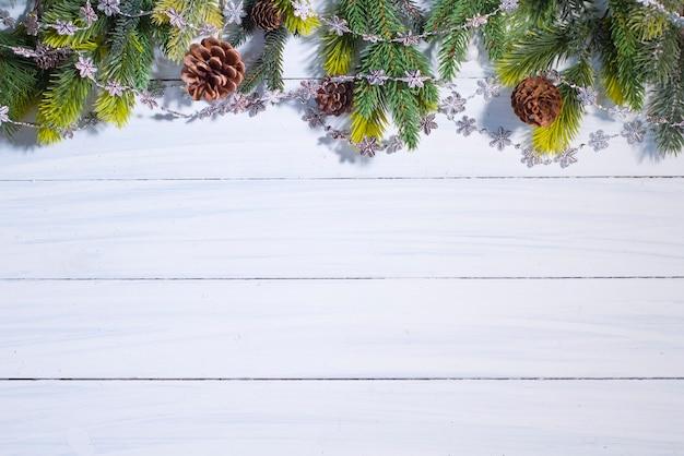 Kerstmis en nieuwjaar achtergrond. vrolijk kerstfeest