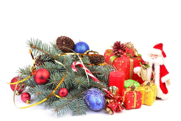 Kerstmis en nieuwjaar geïsoleerd
