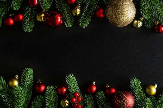 Kerstmis en nieuwjaar vakantie achtergrond ingericht huis thema.