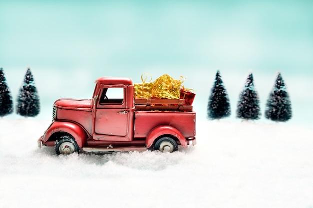 Kerstmis idee copyspace achtergrond.