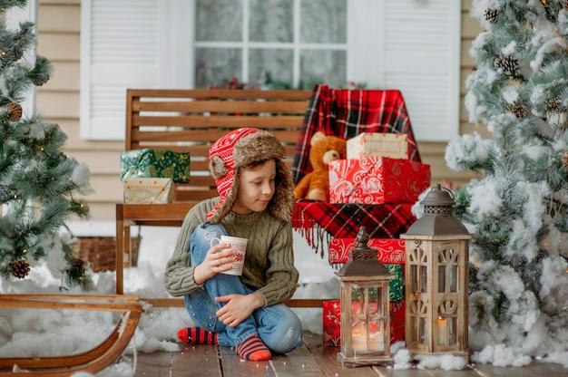Kerstmis is aanwezig