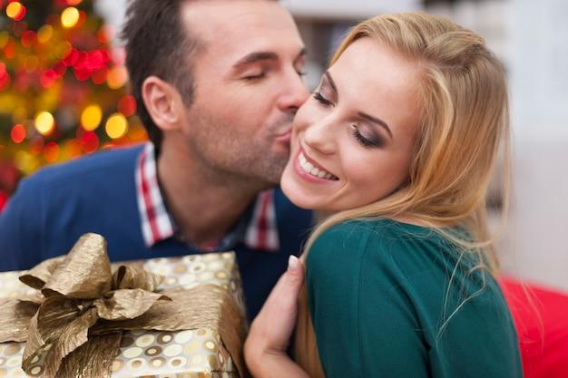 Kerstmis is tijd om lief te hebben