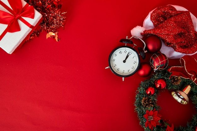 Kerstmis, nieuwjaar 2019 achtergrond