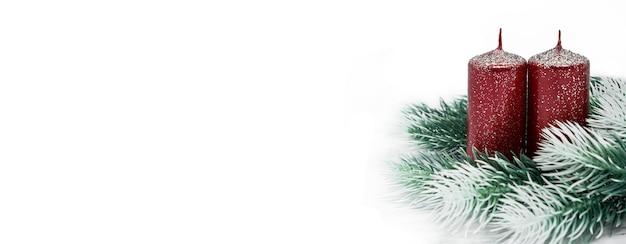 Kerstmis-nieuwjaar voor de banner van de groetkaart