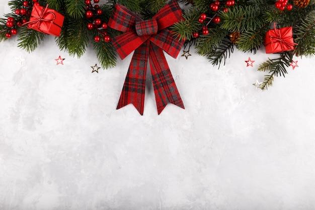 Kerstmis of nieuwjaar grens