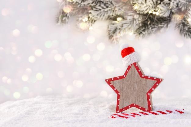 Kerstmis of nieuwjaarskaart
