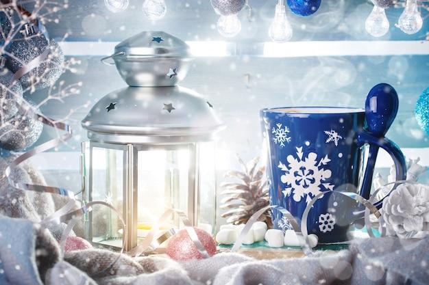 Kerstmis winter stilleven