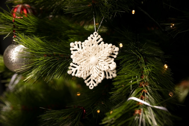 Kerstmisornament van de close-up