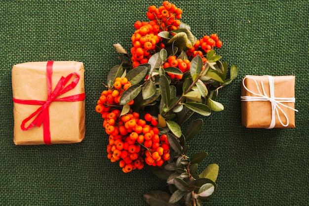 Kerstmissamenstelling met maretak