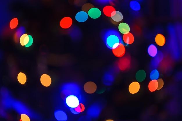 Kerstmissnap abstracte vage achtergrond.