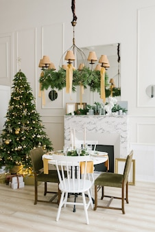 Kerstsfeer en gezelligheid in de huiskamer
