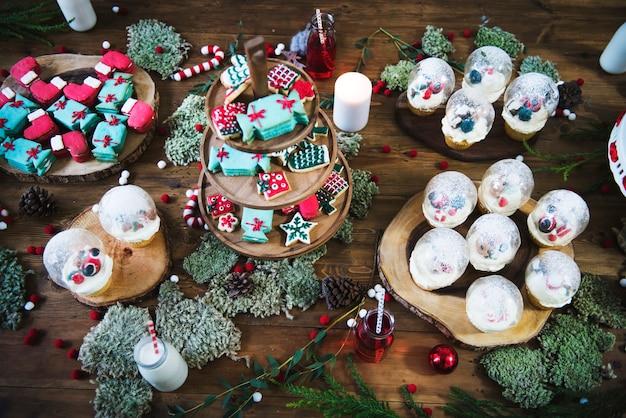 Kerstsnoepjes en -desserts