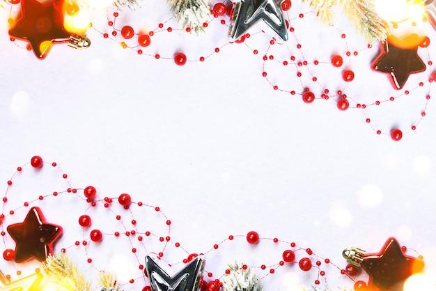 Kerstvakantie achtergrond