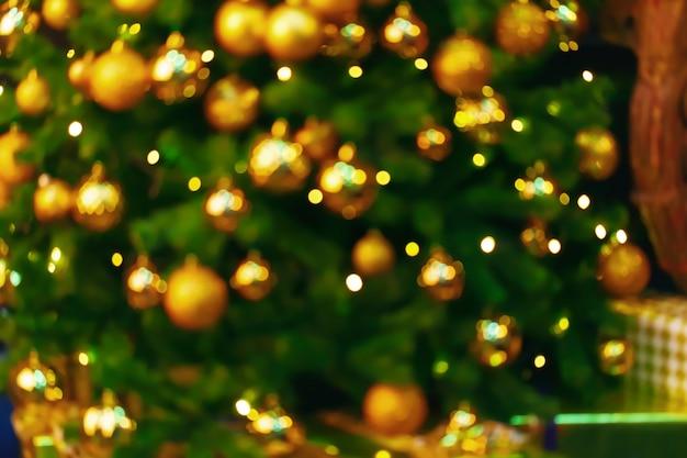 Kerstverlichting bokeh