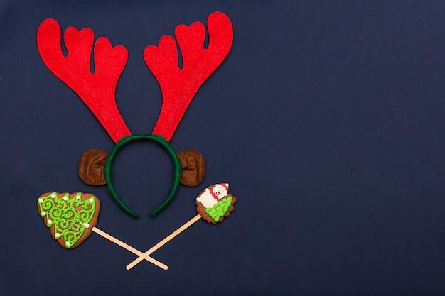 Kerstversiering en peperkoek