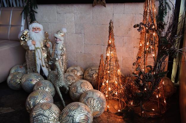 Kerstversiering en verlichting