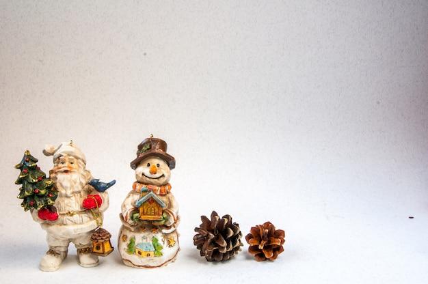 Kerstversiering op een vintage achtergrond