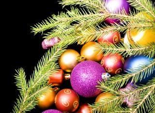 Kerstversiering, viering, een filiaal