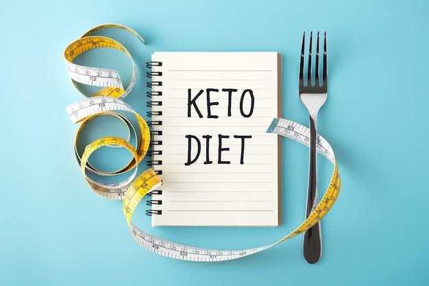 Keto dieet concept