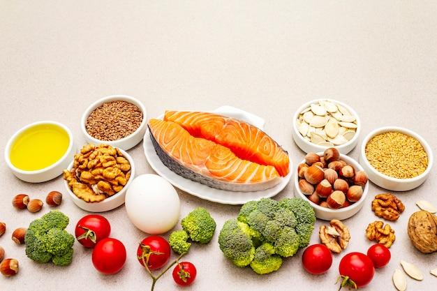 Ketogeen dieet concept