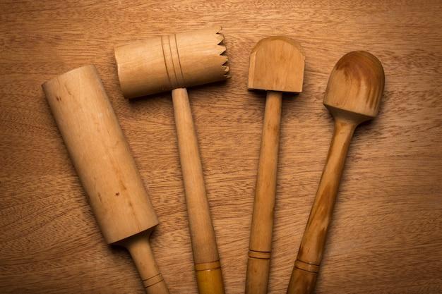 Keuken. houten gebruiksvoorwerp