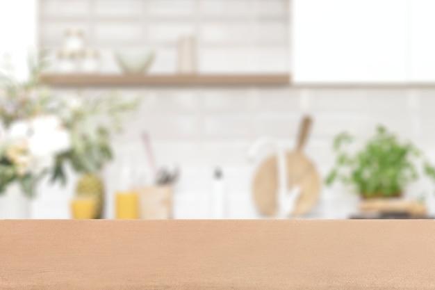 Keuken product achtergrond, interieur achtergrondafbeelding