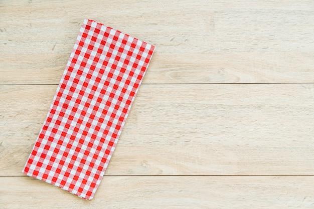 Keukendoek op houten lijst