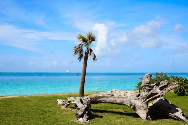 Key west-strandfort zachary taylor park florida