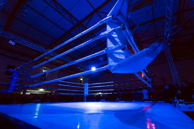 Kickboxer-ringsdetail