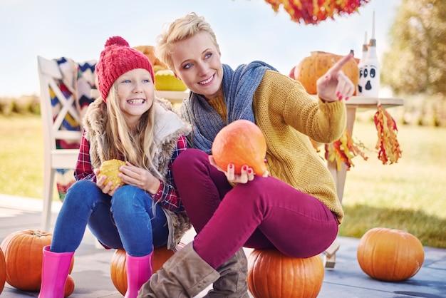Kijken hoe halloween-decoraties eruit zien