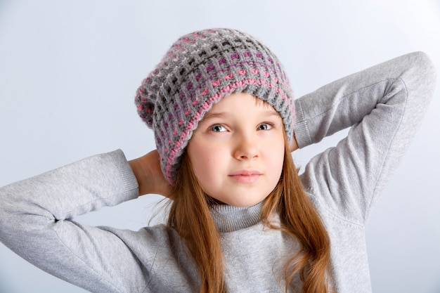 Kind meisje hoed
