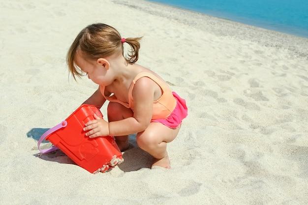Kind op zee