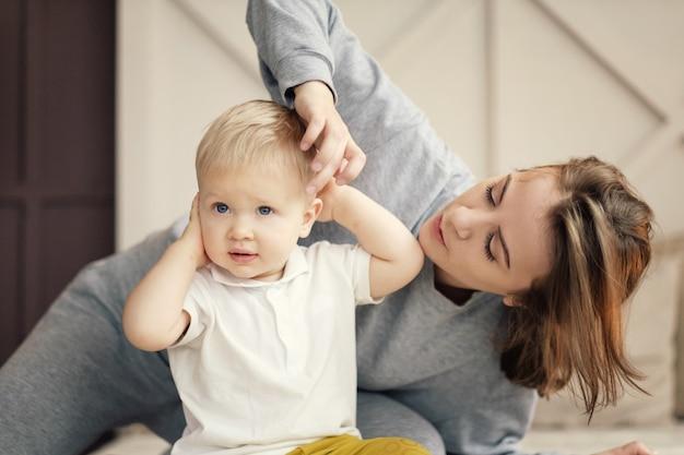 Kinderallergieën, moeder helpt, crème voor allergieën kinderen