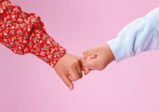 Kinderen handen