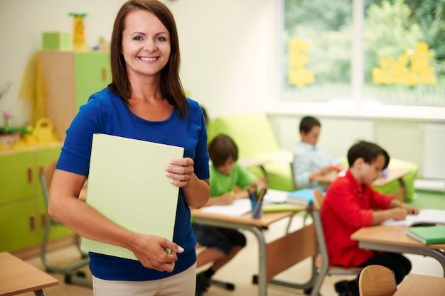 Kinderen lesgeven is mijn levende passie