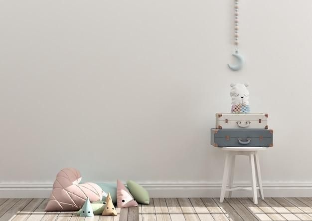 Kinderen speelkamer mockup