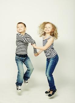Kinderen, zus en broer