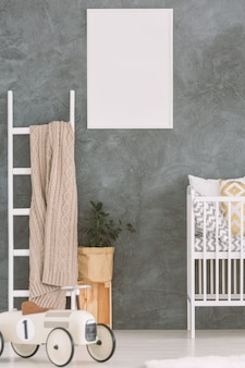 Kinderslaapkamer in scandi-stijl