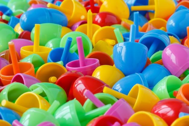 Kinderspeelgoed achtergrond.
