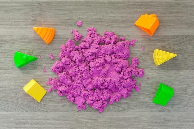 Kinetisch zand voor kinderen