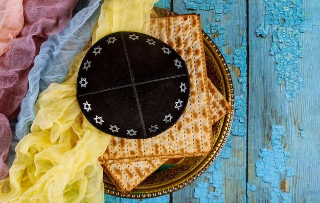 Kippa een joodse pesah viering pascha joodse feestdag