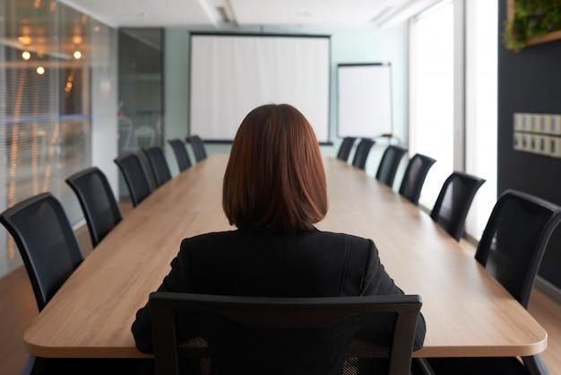 Klaar om een vergadering te leiden