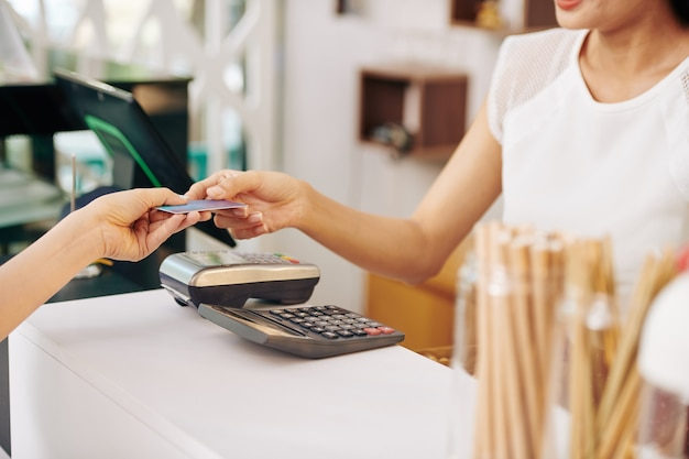Klant betaalt voor bestelling