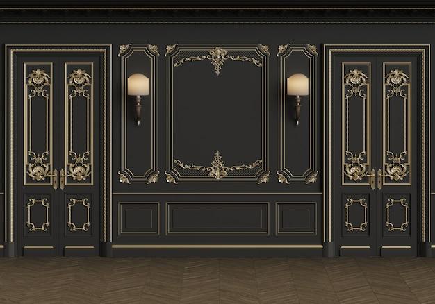 Klassiek interieur met kopie ruimte