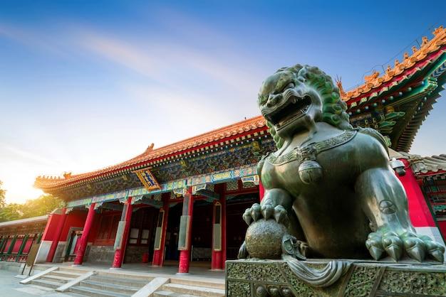 Klassieke architectuur in beijing, china